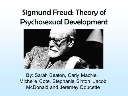 an analysis of freudian theory