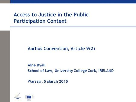 The convention of justice essay