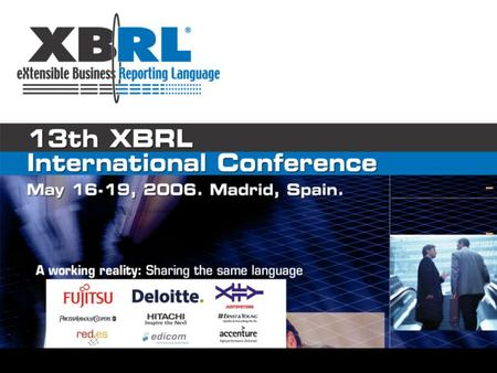 XBRL in the investment funds market: The role of private institutions Rubén Lara Grupo Analistas.
