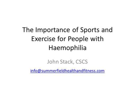 Importance of sports and physical activities for children