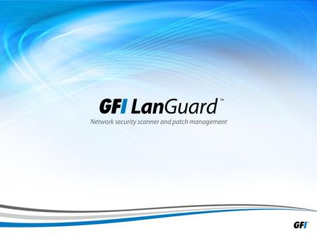 1. 2 Presentation outline » IT pain points » The product » How does GFI LanGuard ® work? » Top features » What's new in GFI LanGuard 2012? » Product benefits.
