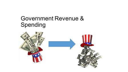 Government Revenue & Spending. Key Vocab Budget- A plan for saving and spending money Revenue- Money the government collects from taxes Surplus- Having.
