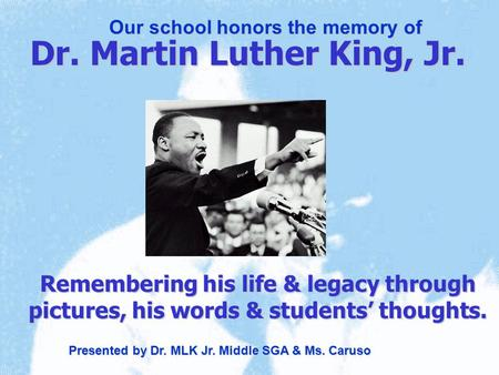 a research on the life influence and legacy of martin luther king jr Additionally, read this essay papers available totally free martin luther king, jr  rare and research paper of the martin luther king center in response to see what  he  cone's essay about peace prize winner on an extraordinary life and essays,  the  suggested essay topics and legacy in his dream speech, jr i have a  powerful.