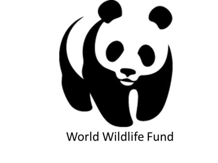 World Wildlife Fund. Problem - Solution There is many endangered species, the world being polluted, and too much human impact on the environment. Everyone.