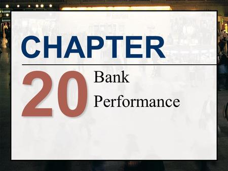 Bank Performance 20.