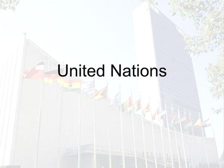 a brief history and an introduction to the united nations The united nations: a very short introduction second edition jussi m hanhimäki arts & humanities history regional & national history european history.