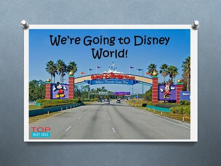 We're Going to Disney World!. Transportation Flight Cost- $1,204.90 JetBlue ($197.94 per person + $215.20 taxes/fees) Depart NY 6am Depart FL.