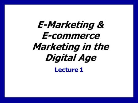 E-commerce E-commerce is defined as the process of buying, selling, or exchanging products, services, or information via computer networks, including.
