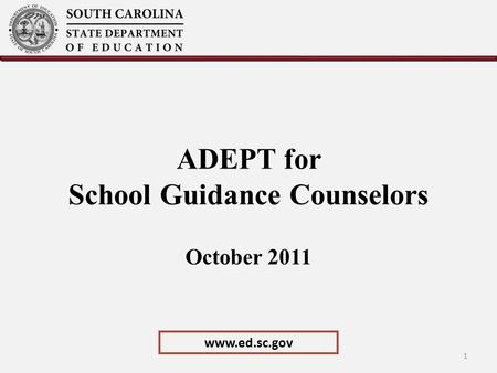 ADEPT for School Guidance Counselors