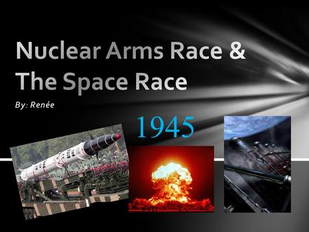 arms race history weapons The arms race and the space race were related, but different the arms race was a competition to have the biggest and most dangerous weapons arsenal.