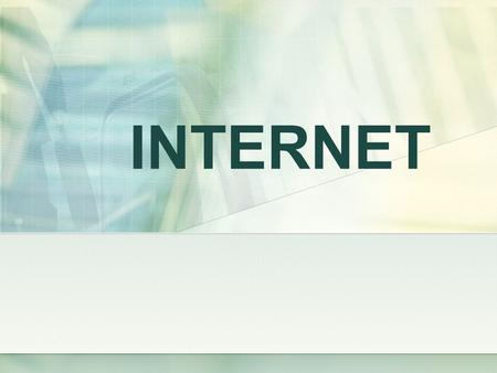 INTERNET. The Internet is a global system of interconnected computer networks that use the standard Internet Protocol Suite (TCP/IP) to serve billions.