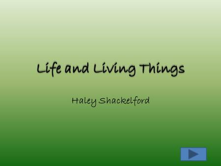 Haley Shackelford. Content Area: Science Grade Level: 5th grade Summary: Students will be given information about both types of cells, their components,