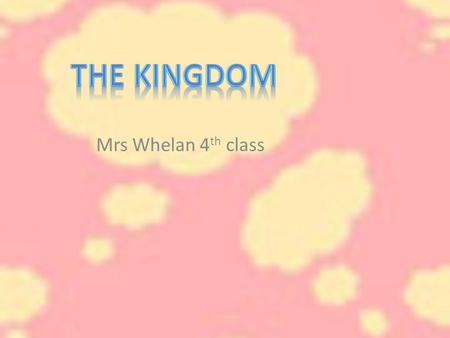 Mrs Whelan 4 th class. County Kerry County Kerry is known as the Kingdom. It is found in the southwest of Ireland and is one of the six counties in Munster.