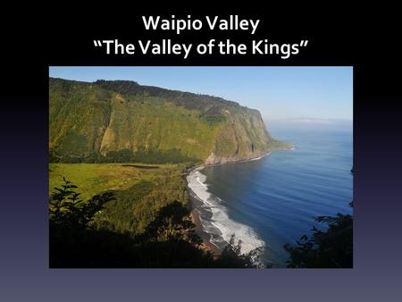 """The Valley of the Kings"""