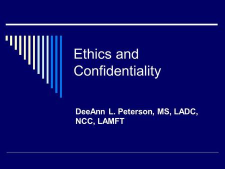 ethics and confidentiality Understand your ethical obligations when using technology to communicate and store client information.