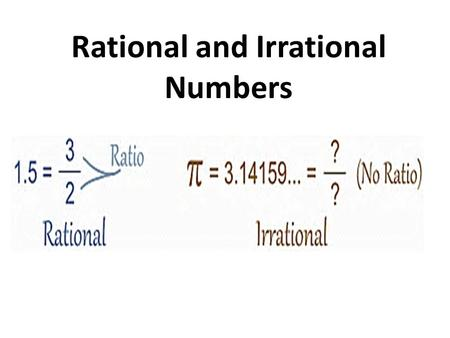 Rational and Irrational Numbers. Rational Number.