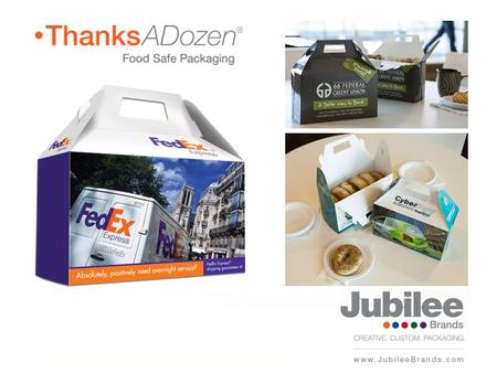 The Thanks A Dozen Technique Companies/Marketing Strategies that Soar with TAD Selling Thanks A Dozen How Jubilee Brands can help Today's Agenda.