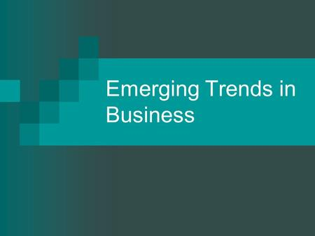 Emerging Trends in Business. Outsourcing Contracting out of a business function, which was previously performed in-house, to an external provider. Contracting.