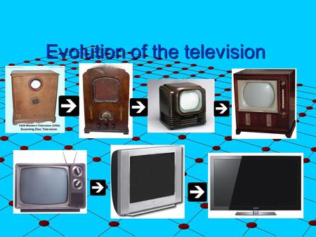 Evolution of the television. The first television Philo Farnsworth invented the television tube when he was only 14. RCA and David Sarnoff sued him for.