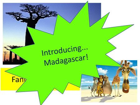Fantastic Places! Introducing... Madagascar!. Learning Objectives Know what the landscape is like in Madagascar Recall knowledge about the rainforest.