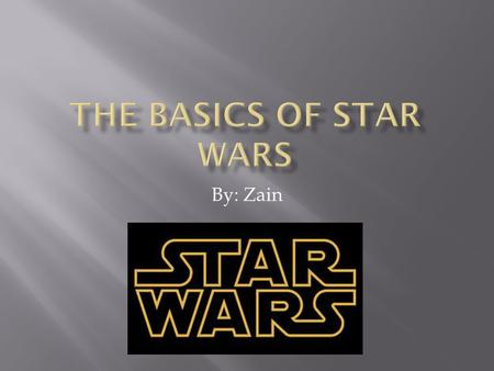 By: Zain.  Chapter 1: Why You Should Read This Book pg.1  Chapter 2: The Basics pg.2  Chapter 3: The Republic pg.3  Chapter 4: The Separatists pg.4.