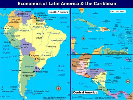 Economics of Latin America & <strong>the</strong> Caribbean