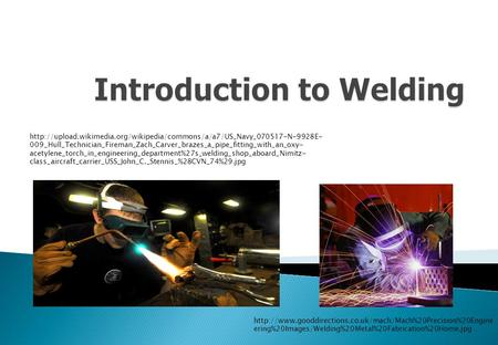 Introduction to Welding