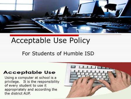 For Students of Humble ISD
