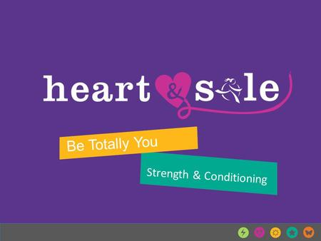 Be Totally You Strength & Conditioning. Circuit One (5 Minutes)