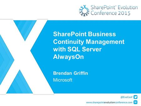 SharePoint Business Continuity Management with SQL Server AlwaysOn