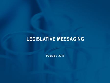 LEGISLATIVE MESSAGING February 2015. NeuMED NeuMED is the new name for the Allied Health Consortium and research center project planned for downtown Evansville.