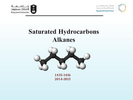 Saturated Hydrocarbons