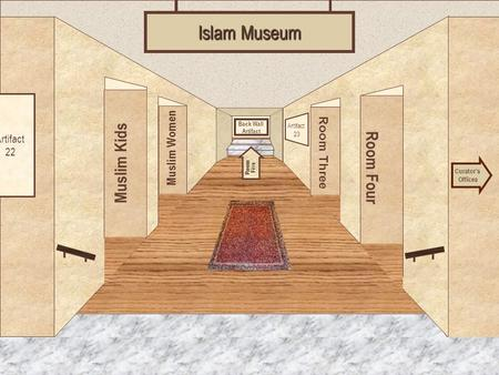 Museum Entrance Islam Museum Muslim Kids Room Four Muslim Women