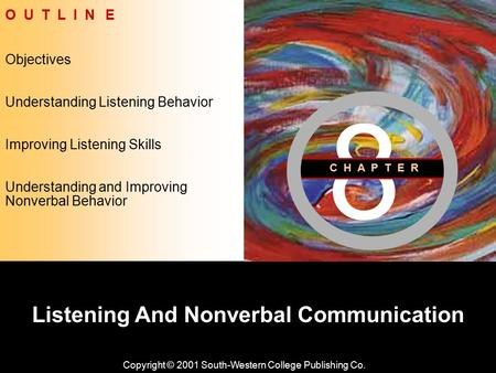 Listening And Nonverbal Communication