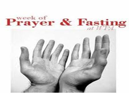 Jesus Himself prayed and fasted: Matthew 4:1-11 1 Then Jesus was led by the Spirit into the wilderness to be tempted by the devil. 2 After fasting forty.