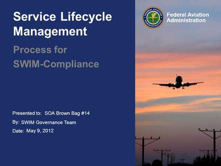 Service Lifecycle Management