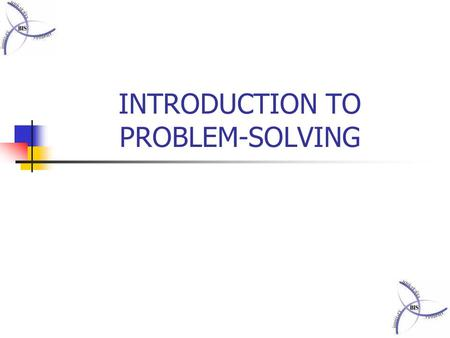 60+ Types of Problem Solving