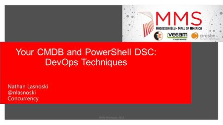 Your CMDB and PowerShell DSC: DevOps Techniques