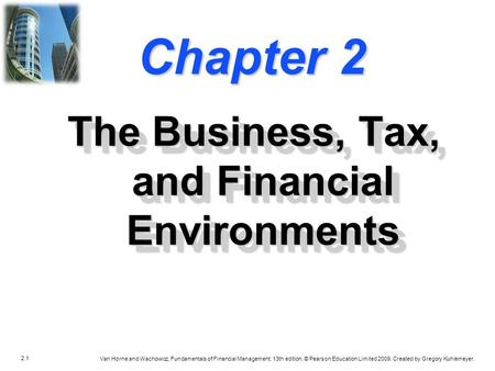 financial business