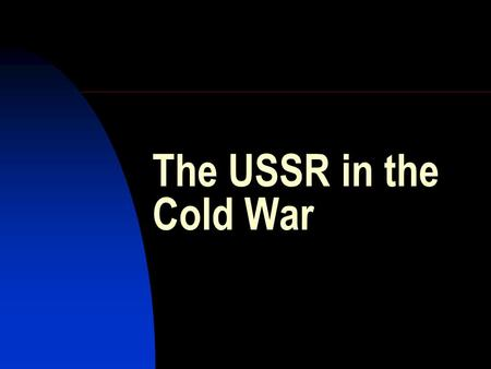an analysis of superpower ideologies in the cold war Ideologies and conflict in the post-cold war juan e ugarriza externado university, medellı´n, colombia abstract purpose – the aim of this article is to apply a.