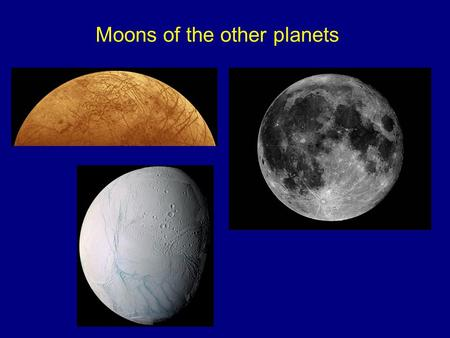 Moons of the other planets. An observational indicator of hydrogen in the atmosphere of Jupiter: absorption lines of hydrogen-bearing molecules in the.