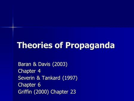 age of propaganda Book review age of propaganda: the everyday use and abuse of persuasion anthony pratkanis and elliot aronson (editors) reviewed by joseph c bullington, department of psychology georgia southern university.