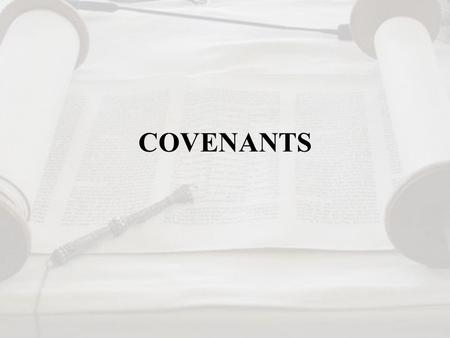 COVENANTS. Historical Covenants Covenants were common in the Near East from the third-millennium Sumer civilizations onward. The Hittites, around 1450-1200.