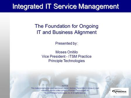 Integrated IT Service Management