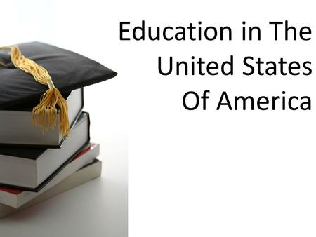 Education in The United States Of America. Preschool Preschool education is the provision of education for children before the commencement of statutory.