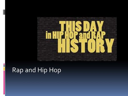 an introduction to the evolution of hip hop culture 1980s evolution of hip hop  this competitive nature helped hip hop retain the battle culture that has existed since the beginning this type of competition can .