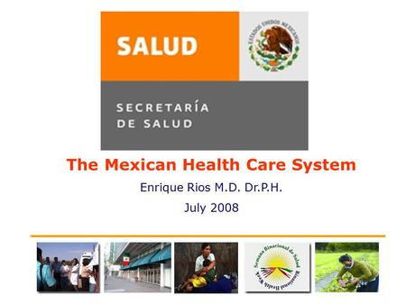 The Mexican Health Care System