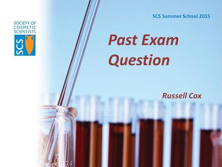 Past Exam Question Russell Cox SCS Summer School 2015.