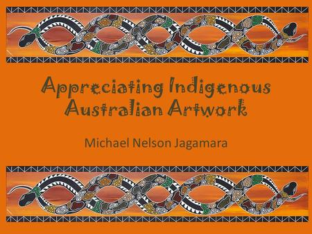 Appreciating Indigenous Australian Artwork Michael Nelson Jagamara.