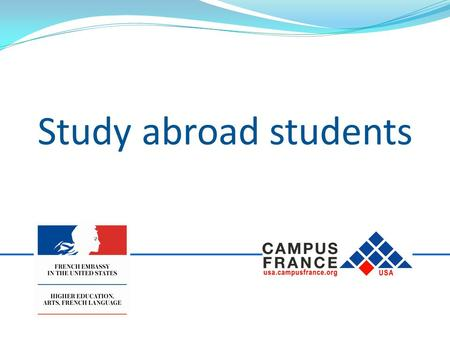 Study abroad students. This guide is for students participating in a study abroad program through their home university for a period of more than 90 days.